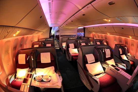 Qatar_Airways_Boeing_777-200LR_Business_Class_cabin_Beltyukov