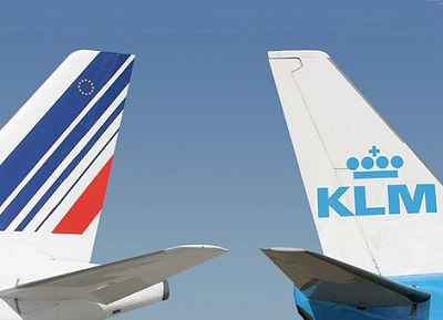 Air_France_&_KLM_vertical_stabilizers