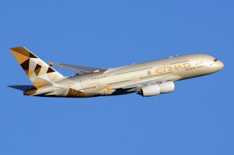 Etihad Airways Airbus A380. (Foto: Wikimedia Commons)