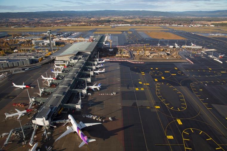 OSL - Høstbilder Flyfoto
