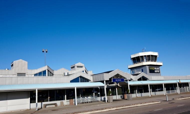 Bilder från Småland airport i Växjö. Flygplats.Foto Mats Samuelsson.