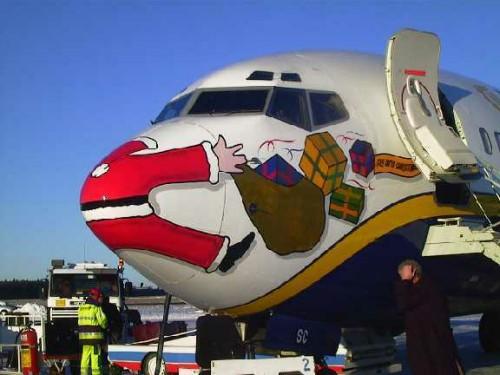 Bildresultat för santa claus aircraft